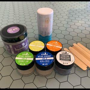 New Natural deodorant bundle